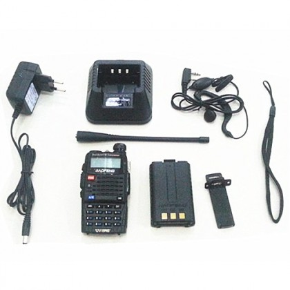 BAOFENG UV5RC Dual Band 5W Walkie Talkie - 5KM