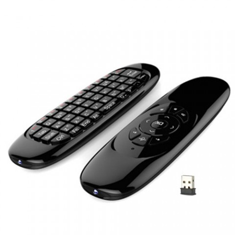 C120 Wireless Air Mouse Keyboard - 3D Somatic Handle