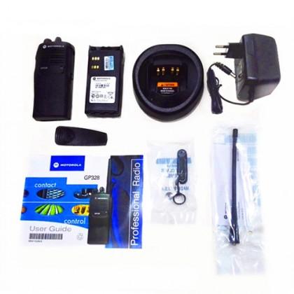 MOTOROLA GP328 UHF 4W Walkie Talkie - 5KM