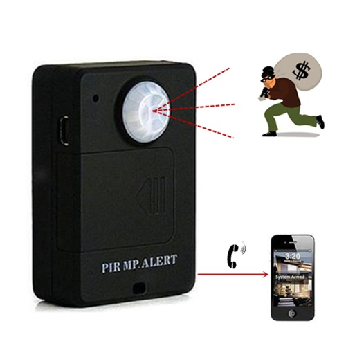 A9 GSM PIR Motion Sensor Alarm Spy Audio Listener