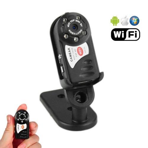 Q7 Night Vision Wifi P2p Hidden Pinhole Spy Camera