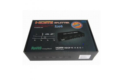 HDMI 3D HD 1080p Splitter - 1 in 4 Out