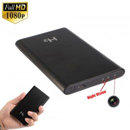 H2 Night Vision Power Bank Spy Hidden Pinhole Camera