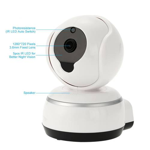 V380 Q3 720p Night Vision WiFi P2p Ip Ptz Cctv Camera