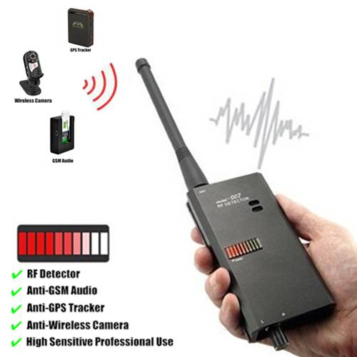 007 GPS GSM Spy Bug Wireless RF Signal Detector