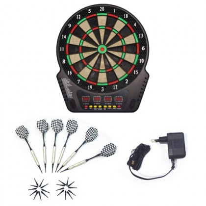 18 Inch Electronic Dartboard 4 - 27 Game + 16 Players