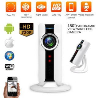 VRCAM 180° Panoramic Day & Night WiFi P2p Cctv Camera
