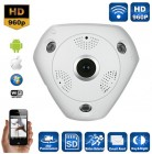 VRCAM 360° Panoramic Day & Night WiFi P2p Cctv Camera