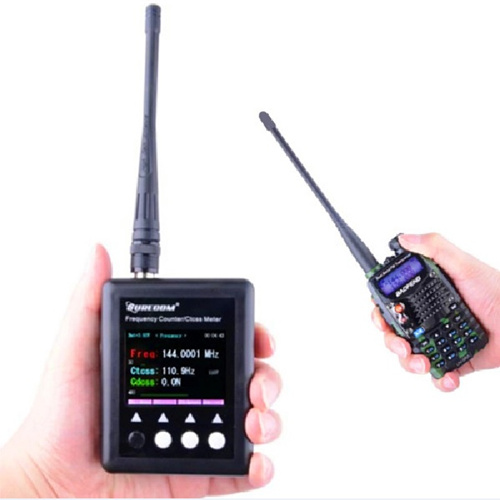 SURECOM SF401-Plus Digital/Analog Walkie Talkie Frequency Counter