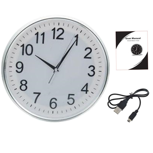Wall Clock WiFi P2p Ip Spy Hidden Camera
