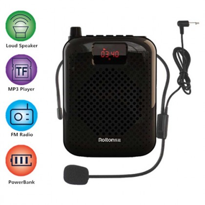 ROLTON K200 Portable Tour Guides Waistband Loud Speaker
