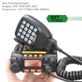QYT KT8900 Dual Band 25W Mini Amateur Radio/Mobile Radio