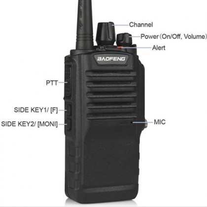 BAOFENG BF-9700 UHF 8W IP67 Waterproof Walkie Talkie - 8KM