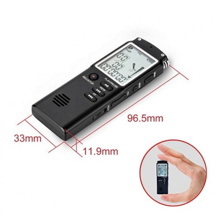 8 Hour Multifunction Professional 8GB Digital Voice Recorder