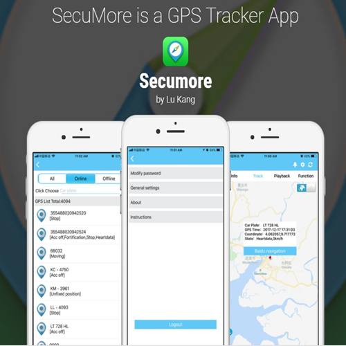 SECUMORE G200 30Days Real Time Magnetic GPS Tracker