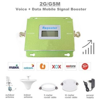2G/GSM 900Mhz Mobile Signal Booster Amplifier Repeater