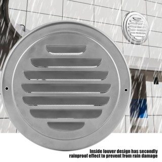 SS304 100mm Air Vent Ducting Ventilation Exhaust Cover