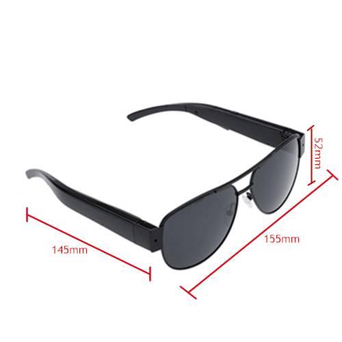 HD500 Sunglasses Spy Hidden Pinhole Camera