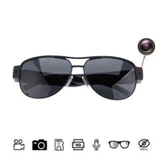 HD500 Sunglasses Spy Hidden Pinhole Camera