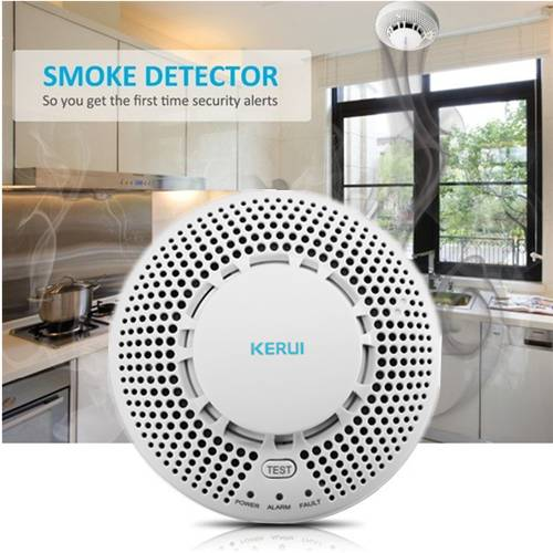 KERUI SD05 433Mhz Wireless Smoke Detector Alarm Sensor
