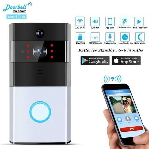XSmartHome M1 Wireless 2 Way Video Visual Intercom WiFi Doorbell