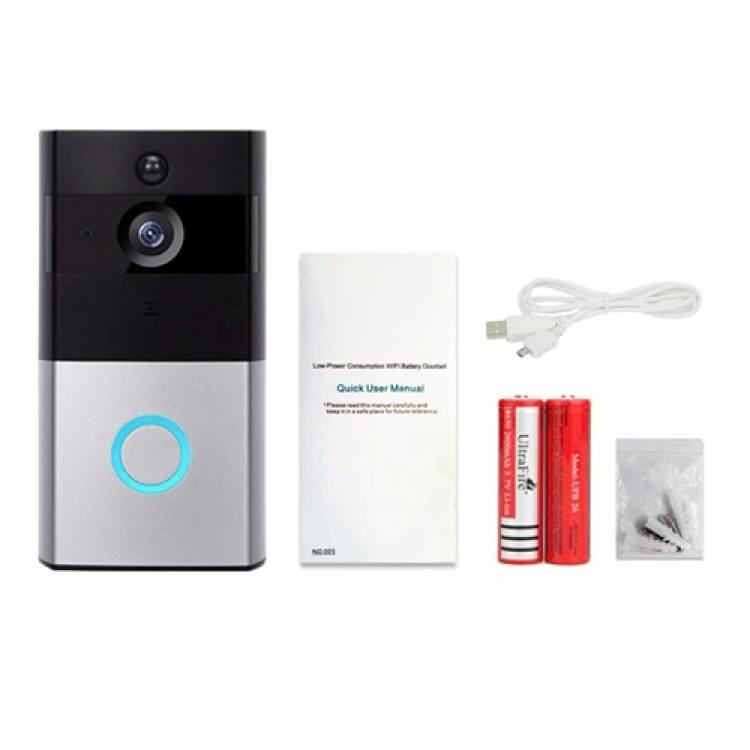 XSmartHome M1 Wireless 2 Way Video Visual Intercom WiFi Doorbell