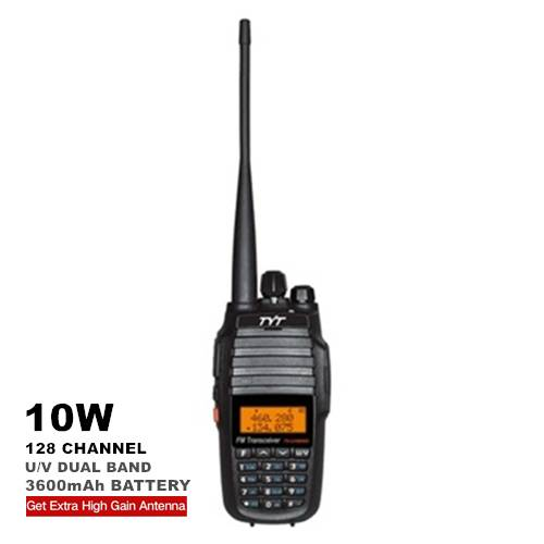 TYT TH-UV8000D Dual Band 10W Walkie Talkie - 10KM
