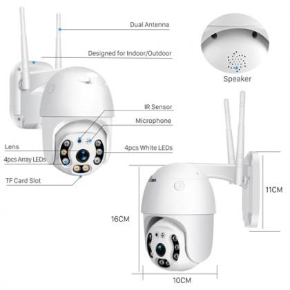 ANYSEE Outdoor Day & Night Wireless Ip Ptz Cctv Camera