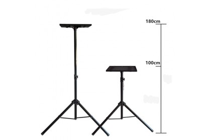 Universal 100~180cm Adjustable Projector Tripod Floor Stand - 60kg Max Load