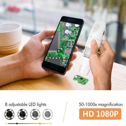 INSKAM 1000x Zoom Handheld Wireless 8 LED Digital Microscope Endoscope Camera