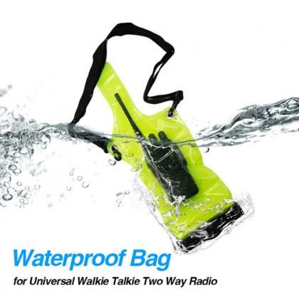 Universal Portable Radio Walkie Talkie Waterproof Bag