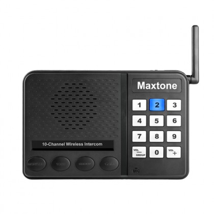 MAXTONE SK1210 Home/Office 10 Channel Wireless Voice Intercom System