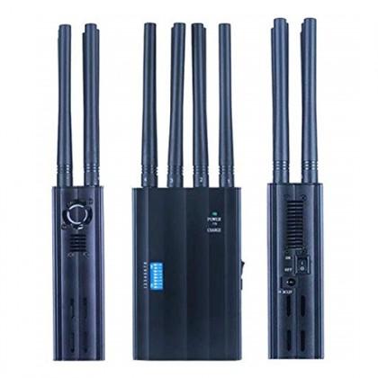 8 Band 2G 3G 4G GPS Beidou WiFi Portable Mobile Signal Jammer