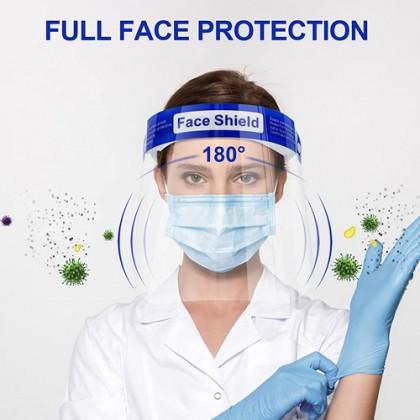 10pc Medical Protective Comfort Sponge Face Shield