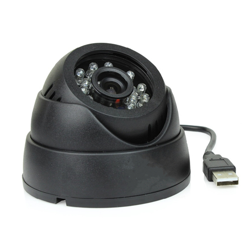 DOME MicroSD Day & Night Indoor Surveillance CCTV Camera