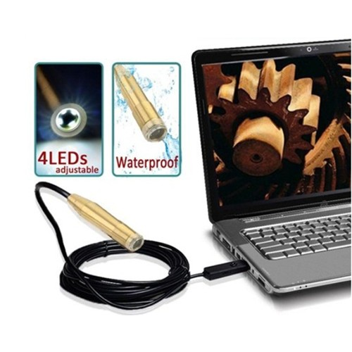 USB Endoscope Wire Pinhole Camera - 5m