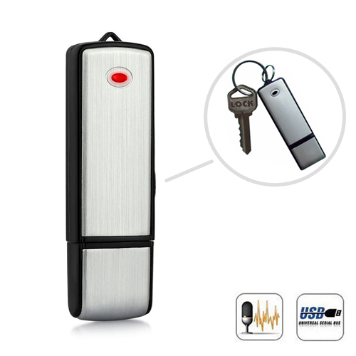 USB Flash Drive Spy Voice Recorder - 8GB
