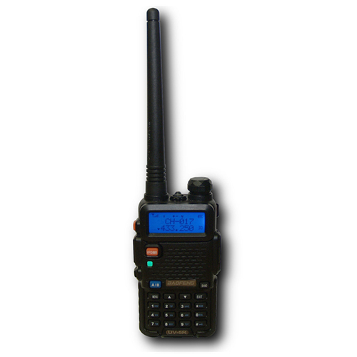 BAOFENG UV5R Dual Band 5W Walkie Talkie - 5KM