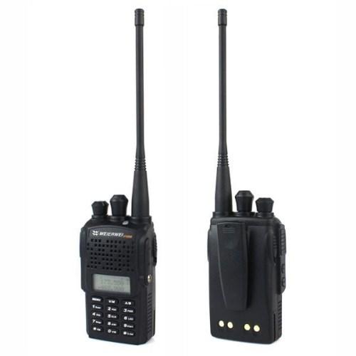 WEIERWEI VEV-V16 Dual Band 4W Walkie Talkie - 5KM
