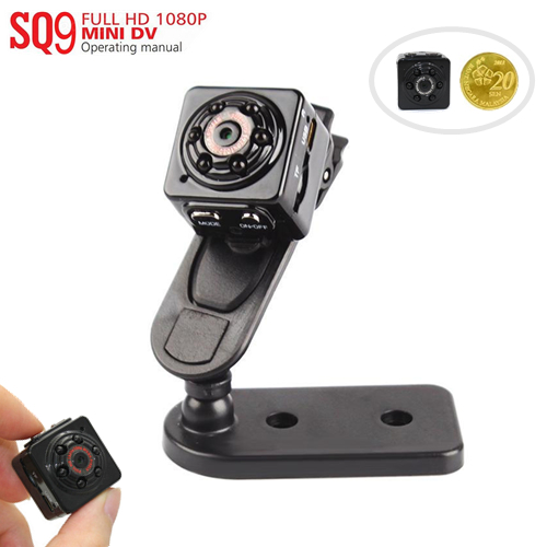 SQ9 Night Vision Mini Cube Dv Camera