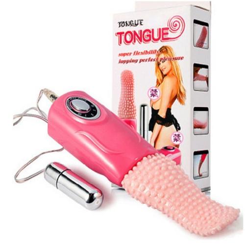 Mini Vibrating Tongue + Vibrating Egg (Pink)