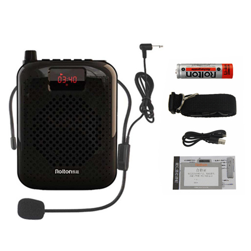 ROLTON K200 Portable Tour Guides Waistband Loud Speaker