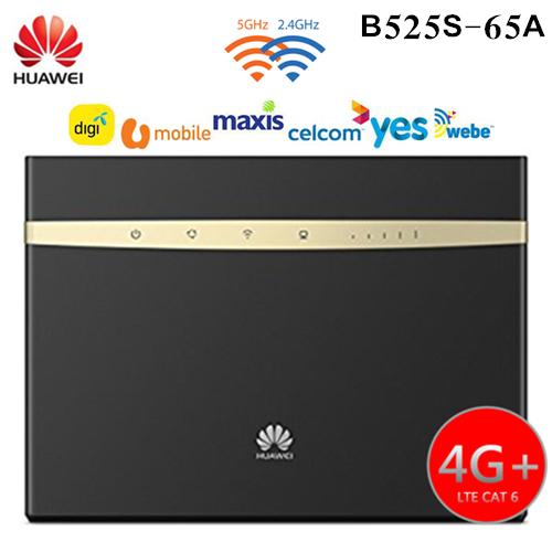 HUAWEI B525S-65A 4G+ LTE CAT6 Broadband WiFi Modem Router (DIGI/UNIFI)