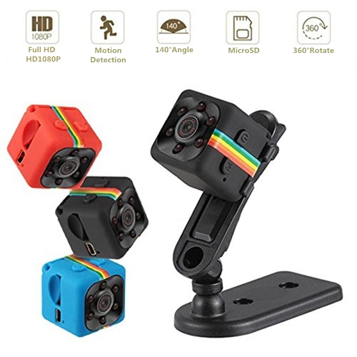 SQ11 Night Vision Full HD Mini Cube Dv Camera /Black