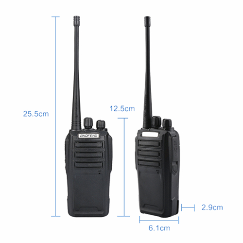 BAOFENG UV6D UHF 8W Walkie Talkie - 5KM