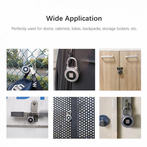 NOKELOCK FB50 Keyless Fingerprint Bluetooth Smart Padlock