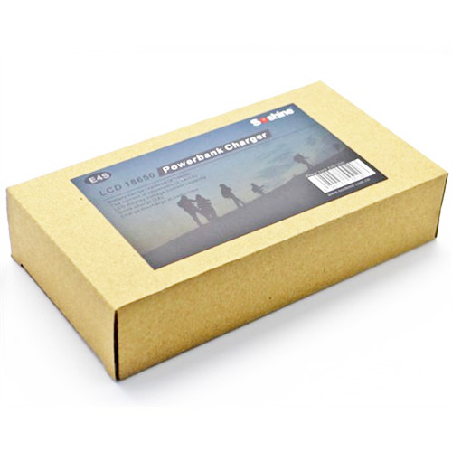 SOSHINE E4S 18650 Battery Charger + DIY Powerbank Box